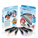 Set crayons face painting children, 6 colors, 3.5