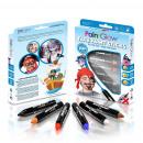 mayorista Herramientas y accesorios: Set de crayones pintados de cara niños, 6 colores,