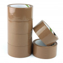 wholesale Business Equipment: Adhesive tape brown, eco solvent, roll 48mm ...