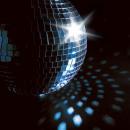 wholesale Lighting Technology: Globe disco with mirror insertion, 20 cm diameter,