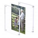 wholesale Pictures & Frames: Photo frame 10x15 transparent acrylic, magnetic gr