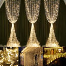 wholesale Accessories & Spare Parts: Decorative garland, 400 LEDs, 10 m, static light,
