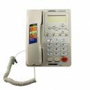 wholesale Telephone: Landline phone with lcd display, memory 500 number