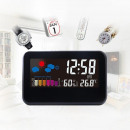 wholesale Weather Stations: Digital Led Clock with Sound Sensor, Display Humid