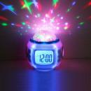 wholesale Clocks & Alarm Clocks: Music digital star watch with stellar projection,