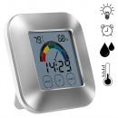 grossiste Chauffage & Sanitaire: Montre numérique éclairée avec hygromètre