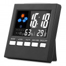 wholesale Weather Stations: Digital led watch with indoor weather station func