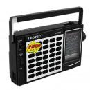 nagyker Elektronikai termékek: Hordozható rádió-fm tv mw sw, 3,5 mm-es jack, tele