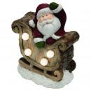 wholesale Consumer Electronics: Bright mosaic decoration with sled, 4 leds, 15 cm,