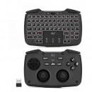 3 in 1 wireless mini keyboard, touchpad, vibrating