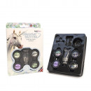 Chunky unicorn glitter kit, make-up face, body and