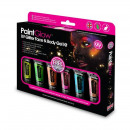 Großhandel Make-up Accessoires: Kit Make Up UV mit Glitzer, 6 Farben, Pinsel und U
