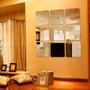 groothandel Spiegels: Zelfklevende folie met spiegeleffect 150x58 cm, d