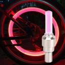 Firefly Ventil, pink mit rotem Licht, Set 2 Stück