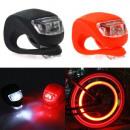Fahrrad-Sicherheits-LED-Leuchten, 3 Beleuchtungsmo
