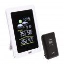 wholesale Weather Stations: Lcd weather station, external emitter, clock displ