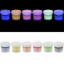 Großhandel Partyartikel: UV-unsichtbarer Fluoreszenzfarbstoff , bunt transpa