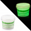 wholesale Painting Supplies: Clear transparent luminescent green container 750