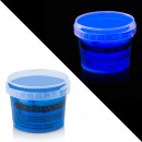wholesale DVDs, Blue-rays & CDs: Varnish uv neon blue container 100 g