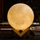 wholesale Illuminants: Lamp 3d 3d 20 cm, led 16 colors, rechargeable, rem