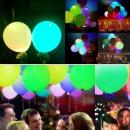 LED-Lampen, verschiedene Farben, Durchmesser 40 cm