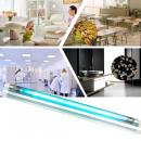 wholesale Drinking Glasses: Uvc bactericidal light 10w, quartz crystal glass t