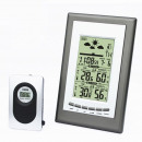 wholesale Weather Stations: Weather station with external emitter, lcd, alarm,