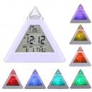 wholesale Clocks & Alarm Clocks: Digital led pyramid clock, 8 melodies, alarm, ...