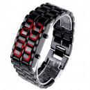 mayorista Joyas y relojes: Reloj Led Lava Style para hombres Samurai