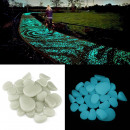 wholesale Accessories & Spare Parts: Phosphorescent pebbles glow in the dark decorative