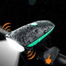hurtownia Sport & czas wolny: Lanterna led cu sonerie bicicleta, 100 lm, fixare