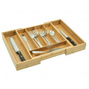 wholesale Business Equipment: Extendable organizer for cutlery, bamboo ...