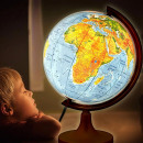 wholesale Children's Furniture: Geographic globe illuminated 2 in 1, political and