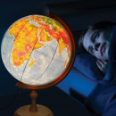 wholesale Children's Furniture: Lighted globe 32 cm, political and physical map, w