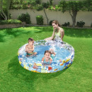 wholesale Garden playground equipment: Children's inflatable pool, 152x30 cm, 3 rings