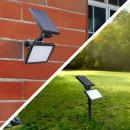 Großhandel Fahrräder & Zubehör:Solarladungsreflekto r, 48 smd LEDs, 4 Modi, ip54