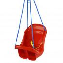 hurtownia Zabawki ogrodowe: Huśtawka z wysokim oparciem dla dzieci, podnóżek