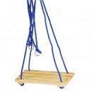hurtownia Zabawki ogrodowe: Klasyczna huśtawka dla dzieci do 20 kg, liny ze sz