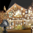 wholesale Electrical Tools: LED floodlight with moving snowflakes, for ...