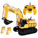wholesale Experimentation & Research: Excavator with 15 channels remote control, 1:24 sc