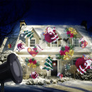 wholesale DVD & TV & Accessories: LED projector 4 Christmas figurines, for ...