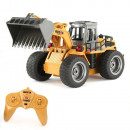 wholesale RC Toys: Bulldozer with 6 channel remote control, rechargea