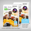 wholesale Printers & Accessories: High glossy glossy photo paper 220g a3