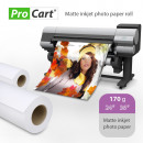 wholesale Printers & Accessories: Photo paper roll 170 grams for 24 inch wide plotte