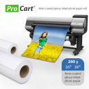 wholesale Printers & Accessories: Photo paper roll rc high glossy 260g roll 36 inch