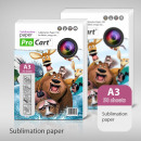 Sublimation Papier A3, 100g, 50 Blatt