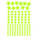 wholesale Wall Tattoos: Illuminated phosphorescent sticker 106 stars