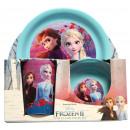 Großhandel Lizenzartikel: Disneyfrozen 2 - Frühstücksset Geschirr für