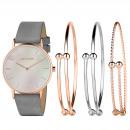 ingrosso Orologi di marca: Set regalo Pierre Cardin con orologio e bracciale