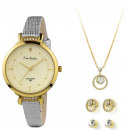 wholesale Jewelry & Watches: Pierre Cardin Gift Set Watch & Necklace &
